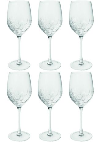 SIA ALBA WATER GLASS S/6 , 384608 ,  H22/D8