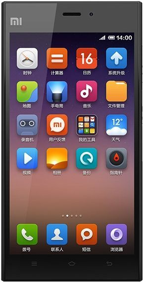 Xiaomi Mi3 2/16Gb Black (Global)