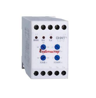 Реле контроля фаз, XJ3-D, AC-380В (CHINT)