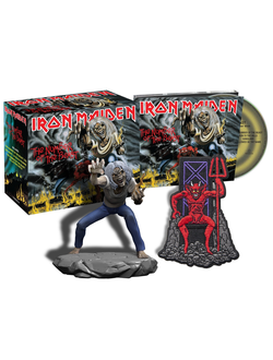 Iron Maiden - The Number Of The Beast CD BOX Collectors Edition