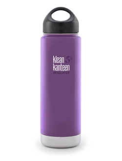 Термобутылка Klean Kanteen VACUUM INSULATED 592 мл (20oz) Wild Grape