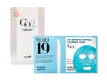 Набор для 1 процедуры карбокситерапии Esthetic House Secret19 CO2 Esthetic Formula Carbonic Mask