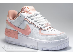 Кроссовки Nike AF Shadow 1 Low White/Pink женские арт. N882