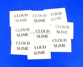 Наклейка «Cloud Slime» для слайма