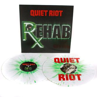 QUIET RIOT - Rehab 2-LP colored
