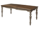 Стол T18331 OAK #K558/ MILKY GREY #G48  М-City