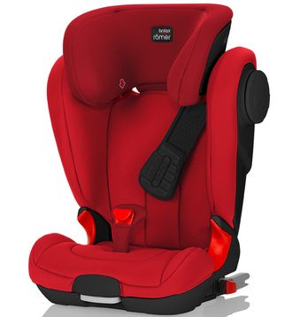 Britax Roemer KidFix II XP Sict Black Series Flame Red