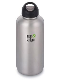 Бутылка Klean Kanteen WIDE 1900 мл (64oz) Brushed Stainless