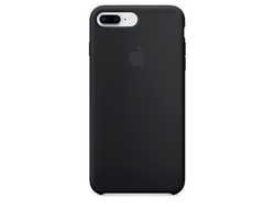Чехол для iPhone Apple iPhone 7 Plus / 8Plus Silicone Black (MQGW2ZM/A)