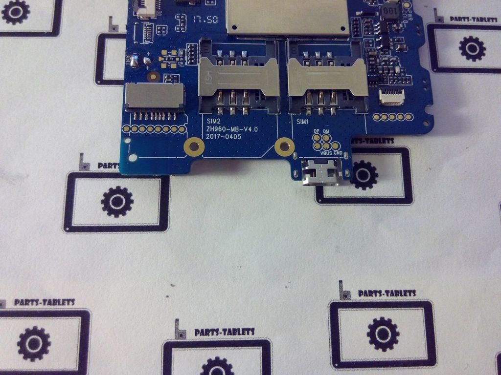 Системная плата ZH960-MB-V4 0
