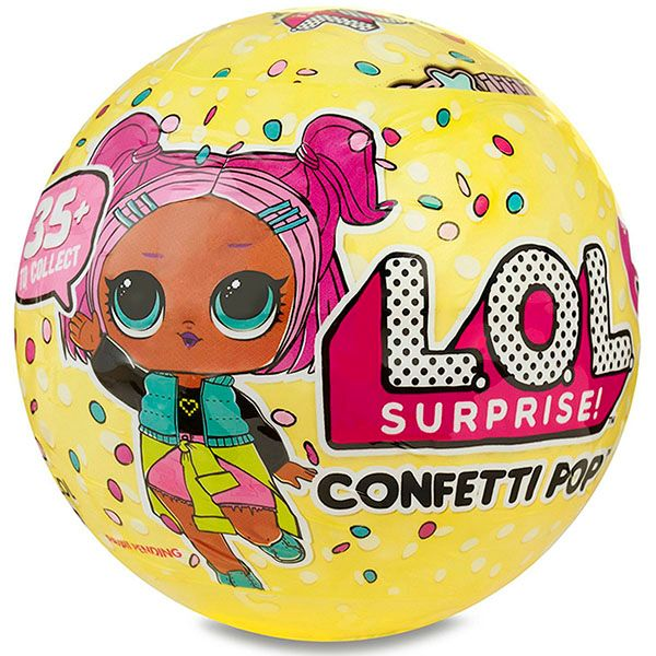 ЛОЛ Сюрприз Конфетти / LOL Surprise Confetti POP / L.O.L. Surprise! Confetti Pop Tots Doll