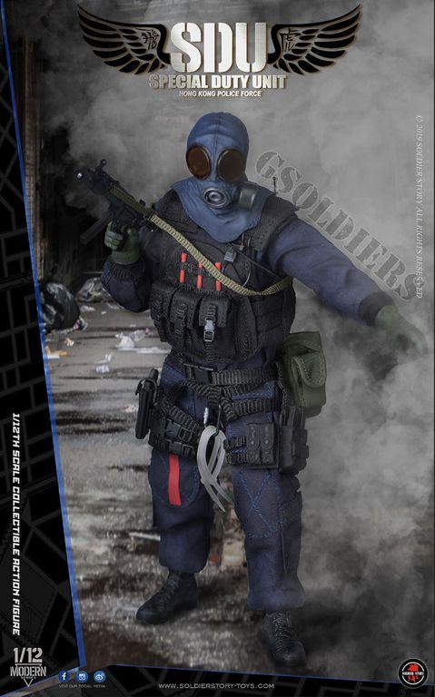 SAS CRW Assaulter 1//12 Scale Toy Gas Mask Head Sculpt