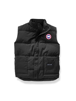 FREESTYLE VEST MEN BLACK