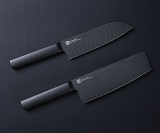 Набор ножей Xiaomi Huo Hou Black Heat Knife Set