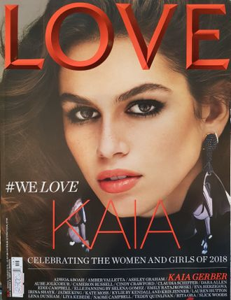 LOVE Magazine Issue 19 Spring-Summer 2018 Kaia Gerber Cover Иностранные журналы Photo Fashion