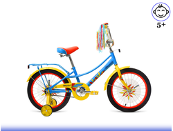 "FORWARD AZURE 18"" (голубой) Kiddy-Bikes"