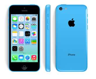 Купить iPhone 5C 8Gb Blue дёшево