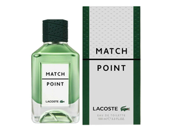 "Lacoste ""Match Point Eau De Toilette""100ml /  Lux"