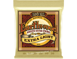 Ernie Ball P02006 Earthwood Extra Light (10-50)