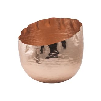 Цветочное кашпо SIA COTTON FLOWER POT LARGE , 280132 , H33/D34
