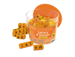 Letters & Sounds Phase Two Interlocking Cubes