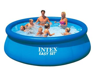 28143 Бассейн Intex Easy Set, 396х84см, 7290л