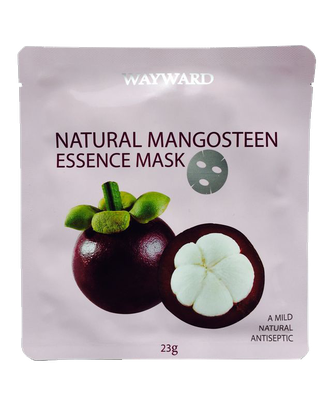 Маска для лица с экстрактом мангостина natural mangosteen essence mask 23 гр