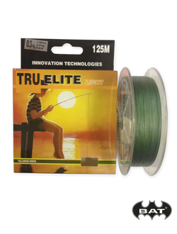 TRUE ELITE light, 125m, зелёная  (0.8mm, 0.10mm, 0.12mm, 0.14mm)