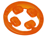 Rock Infinity Stone, 4 on Sprue, Trans-Orange (36451c01 / 6223003)