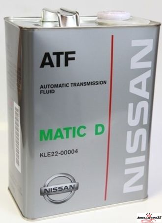 Nissan matic fluid d 4л KLE22-00004