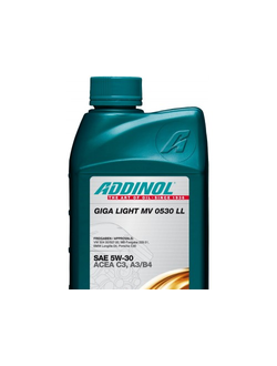 ADDINOL GIGA LIGHT MV 0530 LL (1_литр)
