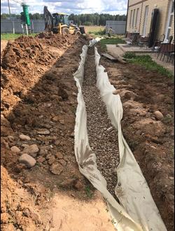 Проект дренажа и/или ливневой канализации