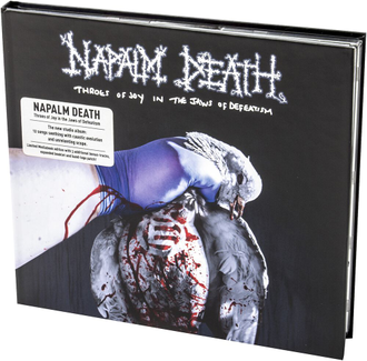 NAPALM DEATH - Throes of Joy in the Jaws of Defeatism CD Mediabook
