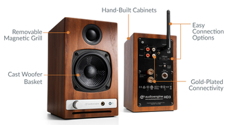 Audioengine HD3 в soundwavestore-company.ru