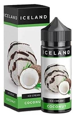 IceLand Coconut 120мл 3мг