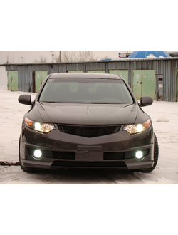 "КАПОТ ПЛАСТИКОВЫЙ VAR №3 ""AGRESSIVE AIR "" HONDA ACCORD 8(VIII) / ACURA TSX (CU2) (2008-2013)"