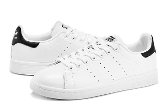 Adidas Stan Smith White/Black бело-черные