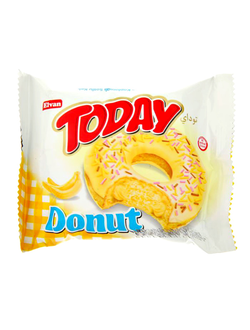 Пончик Today Donut Banana с бананом