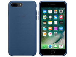 iPhone 7/8 Plus Silicone Case темно-синий