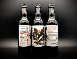 Dessert Eagle Stout - Milk десерт дигл Молочный Стаут 5.8% IBU 24 0.5л Selfmade Brewery в бутылке