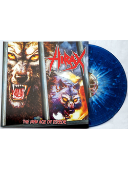 Hirax The New Age Of Terror LP splatter