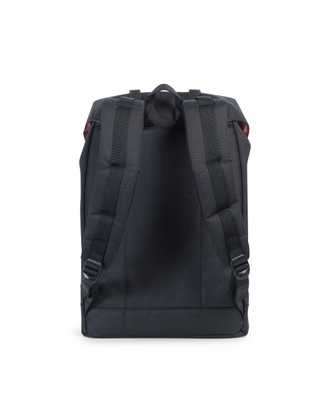 Herschel Retreat Black/Black спина