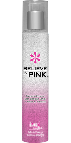 Крем для загара в солярии BELIEVE IN PINK WHITE BRONZER™ Devoted Creations