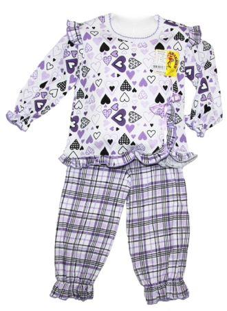 Пижама для девочки (Артикул 332-023) цвет фиолетовый