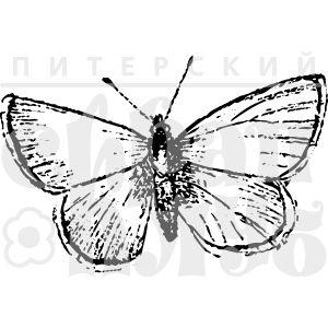 Штамп маленькая бабочка