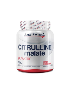Цитрулин Be First citrulline malate 300g