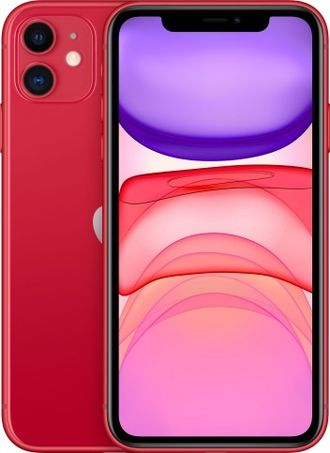 Apple iPhone 11 128gb Red - MWM32RU/A Ростест