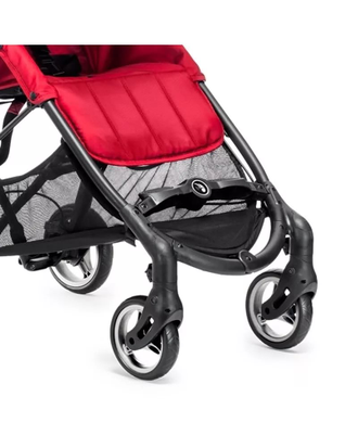 Коляска Baby Jogger City Mini ZIP Серая + бампер