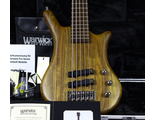 NEW 2019 Warwick THUMB BO 5 Natural Satin