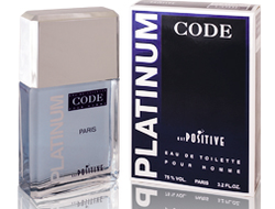 Platinum Code eau de toilette for men